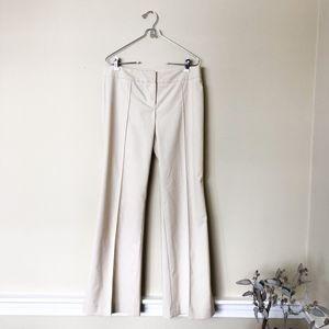 90s Trina Turk Off White Cream Trouser Pant